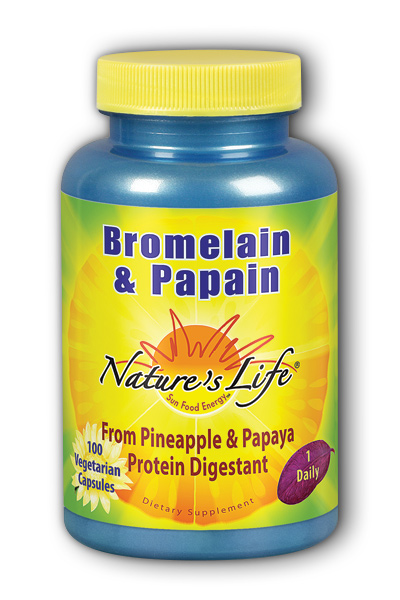 Natures Life: Bromelain & Papain 100ct