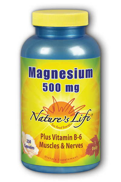 Natures Life: Magnesium, 500 mg 250ct