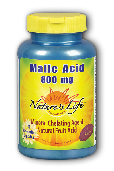 Natures Life: Malic Acid 800mg 100ct