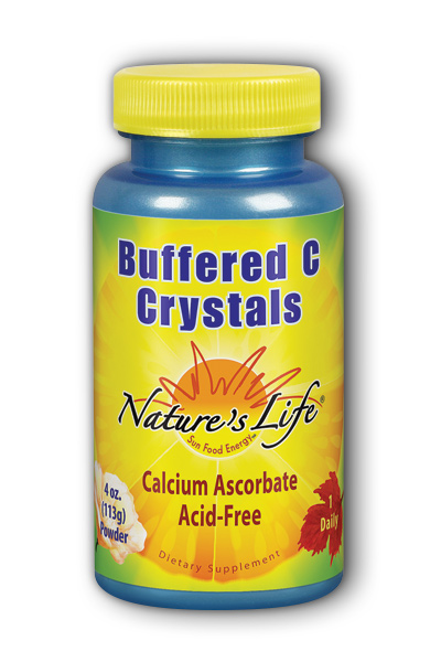 Natures Life: Buffered C Crystals 4oz