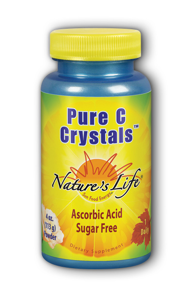 Natures Life: Pure C Crystals 4oz