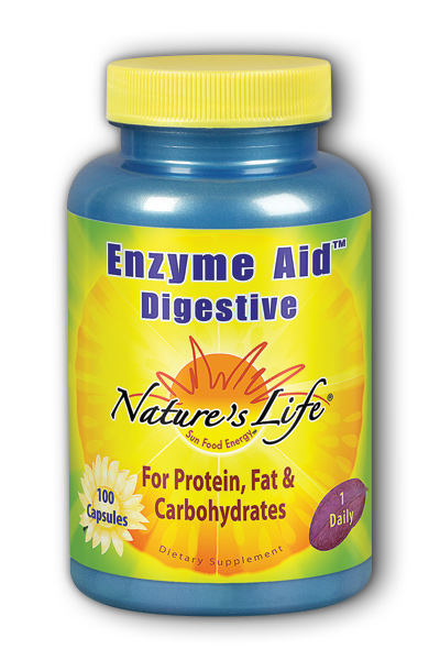 Enzyme Aid Digest Cap 100ct from Natures Life
