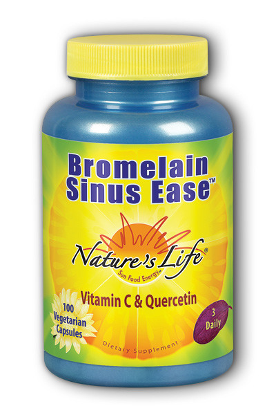 Bromelain Sinus Ease, 100ct