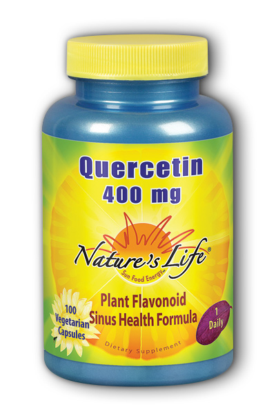 Natures Life: Quercetin, 400 mg 100ct