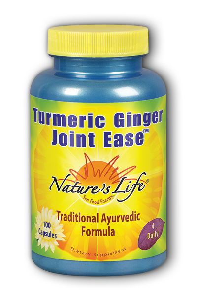 Natures Life: Turmeric Ginger Joint Ease 100ct