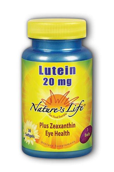 Natures Life: Lutein 20 mg 30ct  Softgel