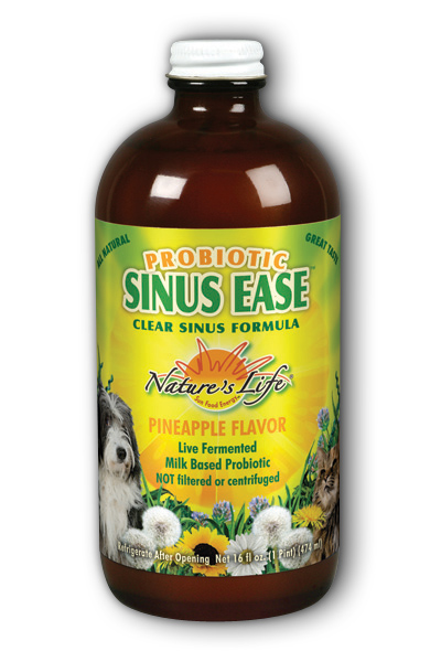 Probiotic Sinus Ease, 16 oz liquid
