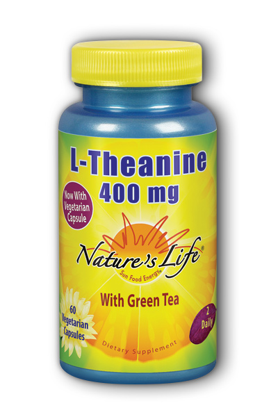 Natures Life: L-Theanine 400mg 60ct