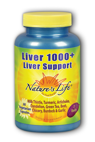 Nature's Life: Liver 1000 Plus 60 ct Vcp