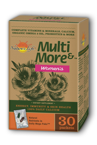 Natures Life: Multi And More Womens 30 pkt