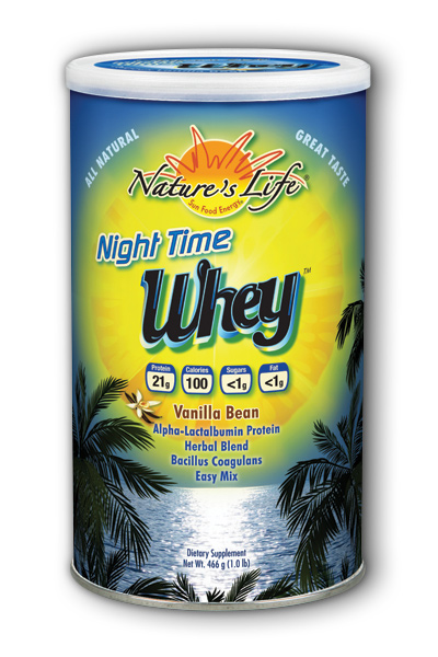 Night Time Protein Vanilla Cream