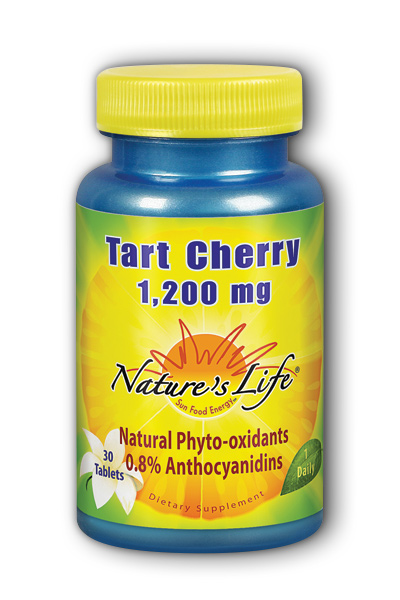 Tart Cherry 1200mg, 30 Tablets