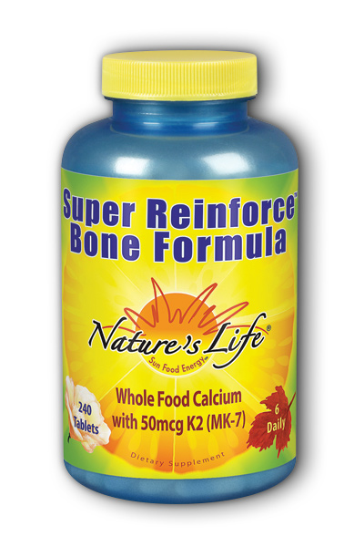 Super Reinforce Bone Formula 120 Tablets from Natures Life