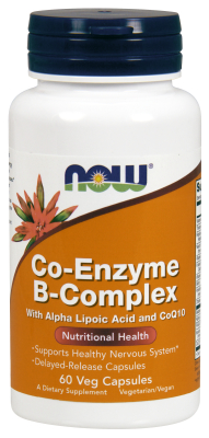 NOW: Co-Enzyme B-Complex 60 Veg caps