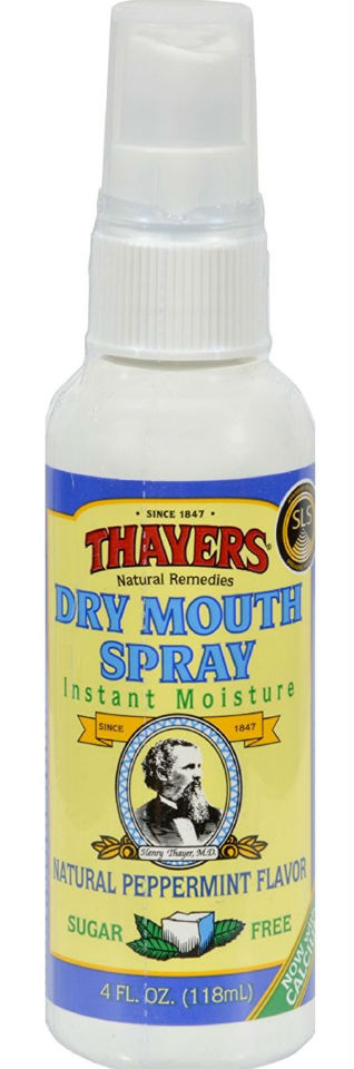 Dry Mouth Spray Menthol Sugar Free w/Pump