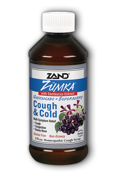 ZAND: Zumka Cough And Cold With Elderberry Cough Syrup 8 oz