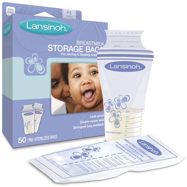 LANSINOH LABORATORIES INC: Breastmilk Storage Bags 50 ct