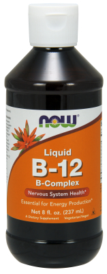 NOW: B-12 LIQUID B-COMPLEX 8 OZ