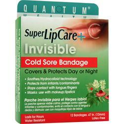 QUANTUM: Super Lip Care Invisible Cold Sore Bandage 12 ct