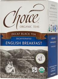 CHOICE ORGANIC TEAS: Decaffeinated English Breakfast 16 bag