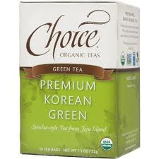 CHOICE ORGANIC TEAS: Premium Korean Green 16 bag
