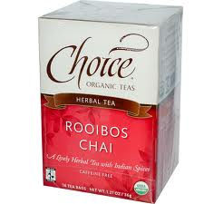 CHOICE ORGANIC TEAS: Rooibos Chai 16 bag