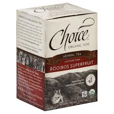 CHOICE ORGANIC TEAS: Rooibos Superfruit 16 bag