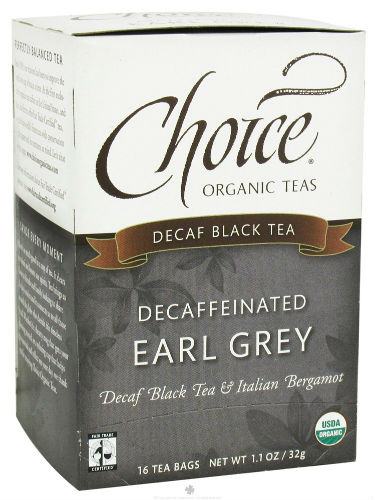 Decaffeinated Earl Grey