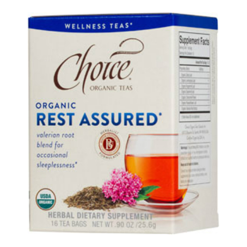 CHOICE ORGANIC TEAS: Wellness Rest Assured Tea 16 bag