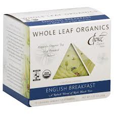 CHOICE ORGANIC TEAS: English Breakfast Whole Leaf Organics 15 bag