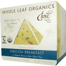 CHOICE ORGANIC TEAS: Bulk English Breakfast Whole Leaf Organics 15 bag