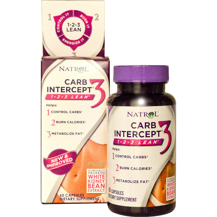 NATROL: Carb Intercept 3 60 cap