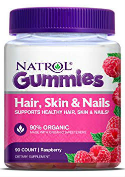 NATROL: Hair Skin & Nail Gummies 90 ct