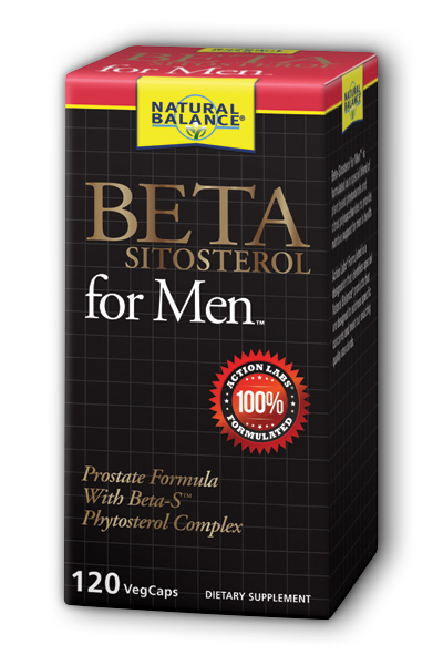 Natural Balance: Beta Sitosterol for Men 120 Vcaps