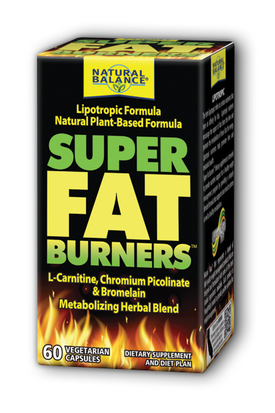 Natural Balance: Super Fat Burners (Lipotropic Formula) 60 ct