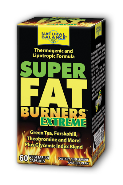 Natural Balance: Super Fat Burners Extreme 60ct