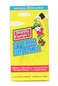 Natural Balance: Happy Camper Stress Breaker 120 Vcaps