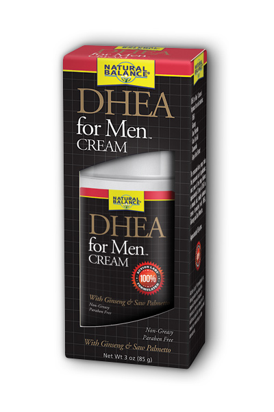 Natural Balance: DHEA for Men Cream (Unscented) 3 oz Crm