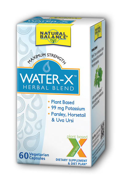 NaturalMax: Water-X 60ct