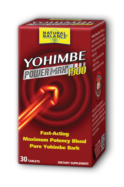 Natural Balance: Y-Power Max 1500 (Yohimbe Plus) 30ct