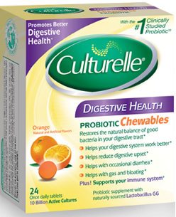 I-HEALTH INC: Culturelle Digestive Health Chewables 24 chewables