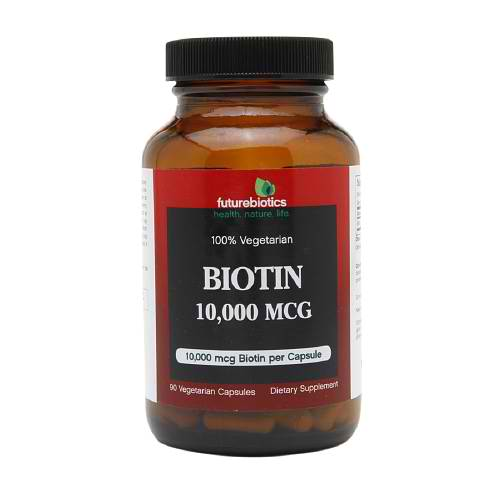 FUTUREBIOTICS: Biotin 10,000 mcg 90 vcaps