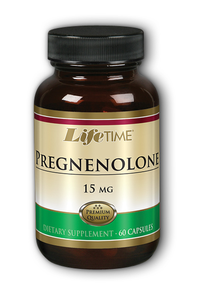 Life Time: Pregnenolone Pharm Grade 15mg 60 ct Cap