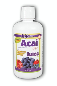 Life Time: Acai Plus Juice Blend Trop Fruit 32 oz Liq
