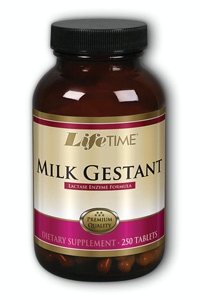 Life Time: Milk-Gestant Lactose Formula 250 ct Tab