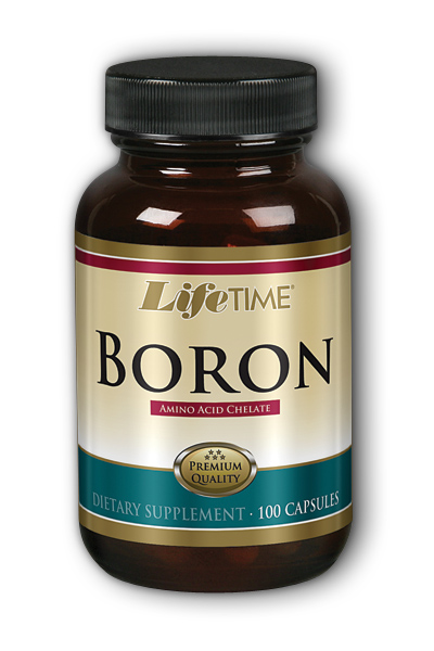 Life Time: Boron Chelated 3mg 100 ct Cap