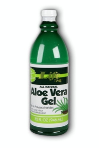 Life Time: Aloe Vera Gel Natural 12 pk Liq