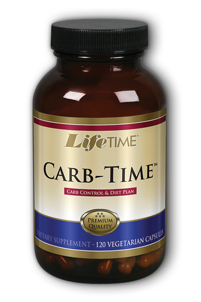 LifeTime: Carb Time 120 ct