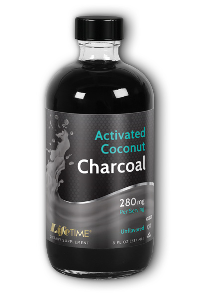 Activated Coconut Charcoal Unflavored 8oz from LifeTime