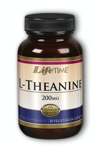 Life time: L-theanine 200mg 30 ct Cap
